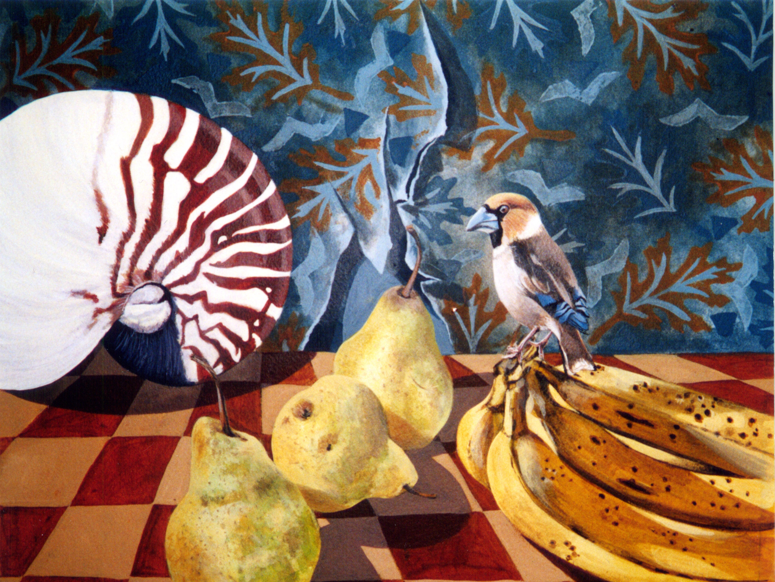 Bird and Banana