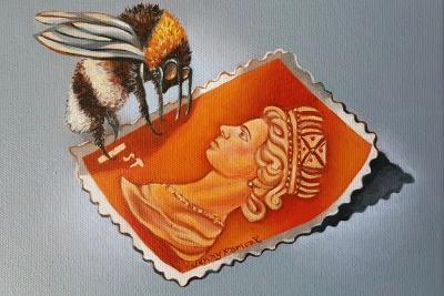 Queen Bee (Orange Stamp)