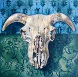 Horny Devil | Oil On Board