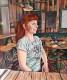 Self Portrait | Oil On Canvas | 50cm  x 60cm