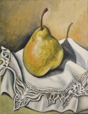 A Lovely Pear | Oil On Board