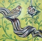 Love Birds | Oil On Canvas
