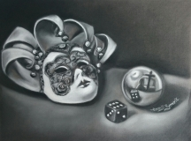 Parlour Games | Compressed Charcoal |