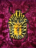 Tiger Beetle | Gouache on Paper