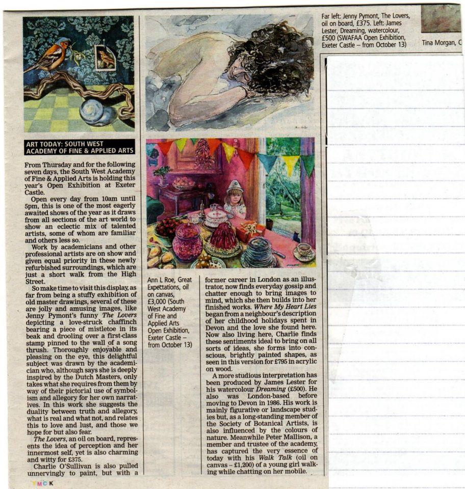 Press Releases Jenny Pymont Swac